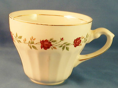 VINTAGE J & G MEAKIN ENGLISH IRONSTONE ROSE MARIE PATTERN, CUP ONLY (w fleabite)