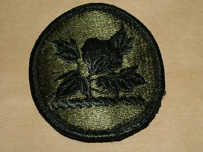 US ARMY ALABAMA NATIONAL GUARD PATCH OLIVE GREEN