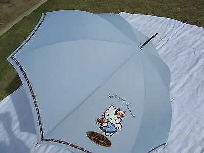 Sanrio Hello Kitty Umbrella Chocolat Blue Adult Collectible 1976, 2003  Vintage