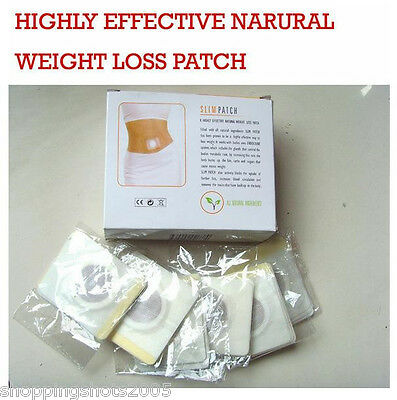 30pcs STRONGEST Weight Loss Slimming Diets Slim Patch Pads Detox Adhesive Sheet