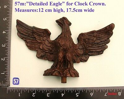 "57M ""Large Eagle"" clock case / furniture DIY"