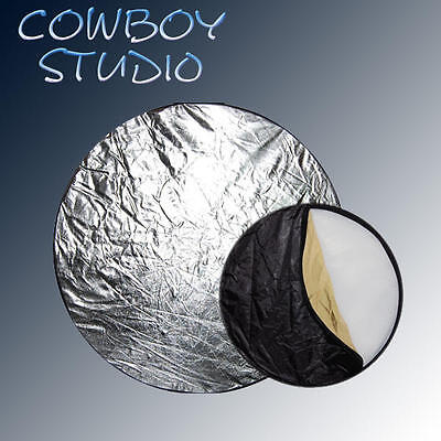 "Cowboystudio 24"" 60CM 5 in 1 Round Portable Collapsible Multi Disc Light Panel"