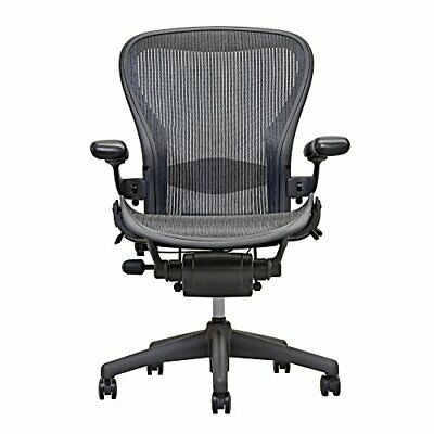 Herman Miller Aeron Chair Open Box Size C Fully Loaded hardwood caster