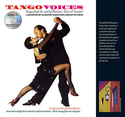 Tango Voices Songs From Buenos Aires And Beyond Music Book & CD