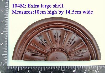 "104M ""Very Large Shell"" clock case / furniture DIY"