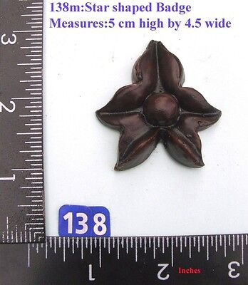 "138M Star Shaped Badge"" clock case / furniture DIY"