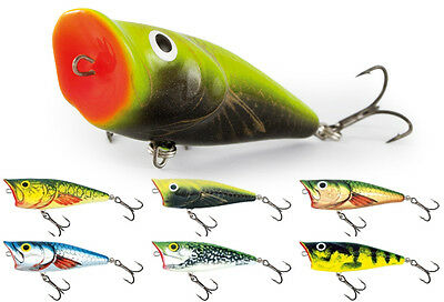 Salmo Pop 6cm Floating PSA-P6F / TOPWATER lure for Bass, Perch, Pike / COLORS!