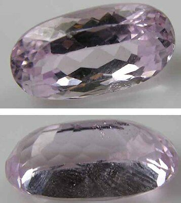 11.70ct Afghanistan From 100% Natural Rough Pink Kunzite Oval Cut Gemstone 2.30g