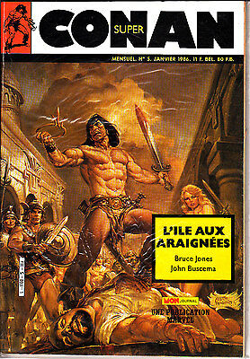 Conan  Super  N° 5       Publication  Marvel  Mon Journal