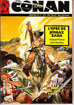 Conan  Super  N° 11      Publication  Marvel  Mon Journal