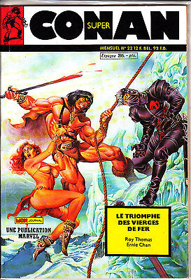 Conan  Super  N° 22      Publication  Marvel  Mon Journal