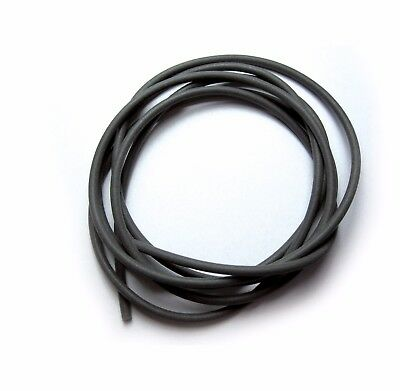(1,67€/m) 1,5m SILICON-TUBE SCHWARZ, SILIKONSCHLAUCH ∅ 1/1,25/1,5/2mm, CARP RIGS