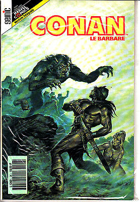 Conan  Le  Barbare  :n°26     Editions   Semic France