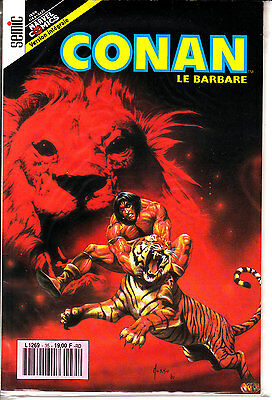 Conan  Le  Barbare  :n°35    Editions   Semic France