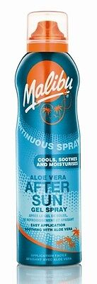 Malibu Continuous Spray Aloe Vera After Sun Gel 175ml