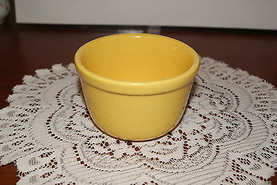 VINTAGE....OVEN  WARE........YELLOW BOWL OR HOLDER.........U.S.A.