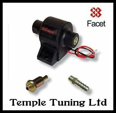 Facet Electric Fuel Pump 7-10 psi with 8mm union & filter