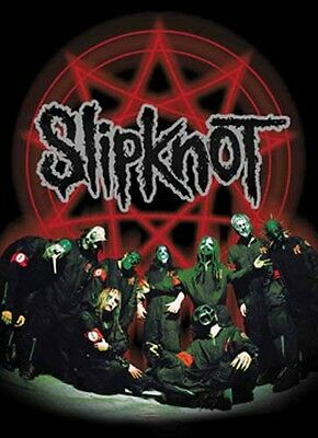 "SLIPKNOT ""PENTAGRAM"" Fabric Poster Oversized 30""X40"" Poster Flag NEW"