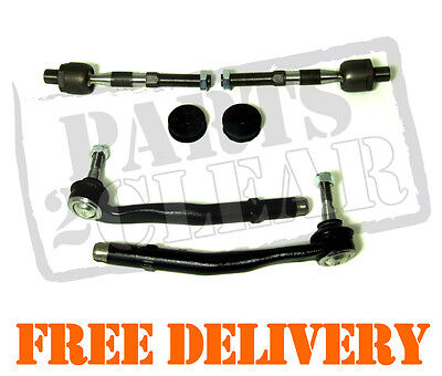 Bmw E39 520 523 525 528 530D 1996-2004 2 Inner & 2 Outer Track Rod Tie Rod Ends