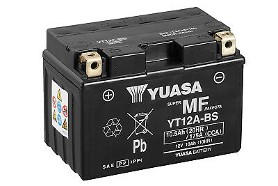Genuine Yuasa Yt12A-Bs Motorbike Motorcycle Battery