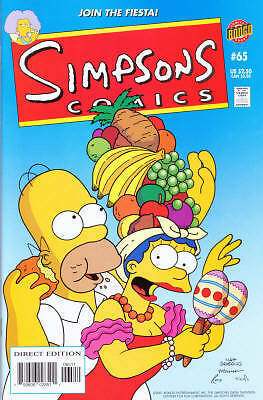 Bongo comics Simpsons #65 NM FREE UK POST