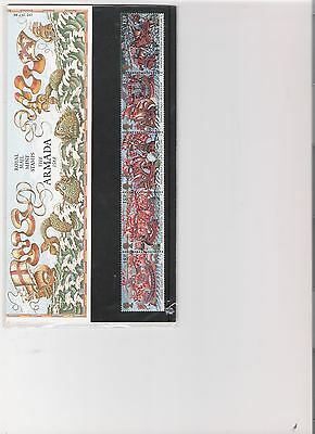 1988 Royal Mail Presentation Pack The Armada 1588 Mint Decimal Stamps