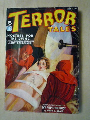 Terror Tales # 30 Sept/ Oct 1937  Original- no reprint