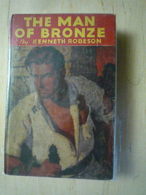Doc Savage The Man of Bronze Hardcover 1933