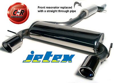 Audi TT Coupe 8N Quattro 1.8T 180/225hp S/Steel Jetex Exhaust Sys 41-H8TR 99 On