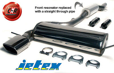 Audi S3 8L 1.8i 210/225 hp Stainless Steel Jetex Exhaust System 41-HATR 99-05/03
