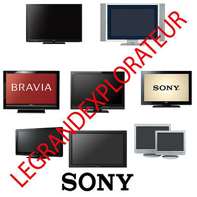 Ultimate SONY TV LCD PLASMA LED  Repair Service Manuals  (PDFs manual s on  DVD)