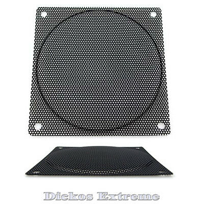 120mm Black Wire Fan Grill / Finger Guard- 1.5mm Hole
