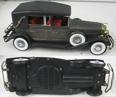 1960's Die Cast Car Radio~1928 Uncolh Made in Hong Kong