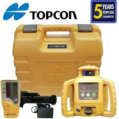 Topcon RL-H5B Rechargeable Rotating Laser Level
