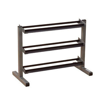 Body-Solid 40 inches Wide 3 Tier Dumbbell Storage Rack