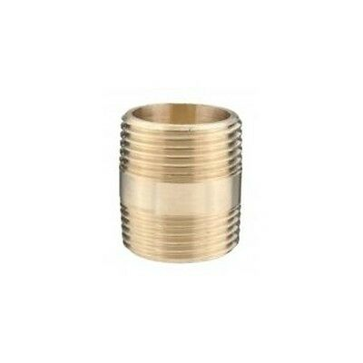 """**New** Brass Barrel Nipple (Various Sizes Available: 1/8"""",1/4"""",3/8"""",1/2,3/4,1"""""""