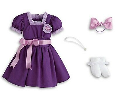 AMERICAN GIRL EMILY'S HOLIDAY OUTFIT DRESS NIB Doll Not Included