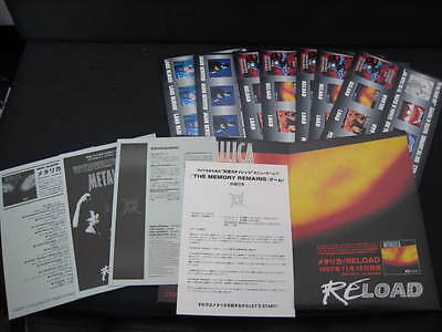 Metallica The Memory Remains Japan Promo Press Release w Card Game in Folder