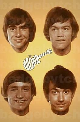 THE MONKEES LARGE fridge magnet - CLASSIC RETRO COOL!