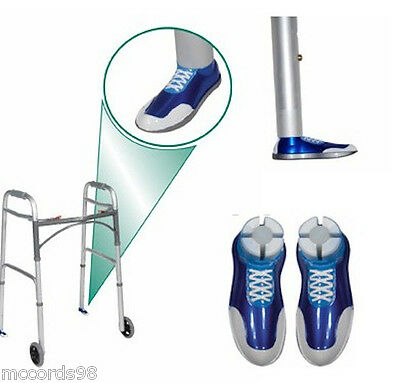 DRIVE 100014 Sneaker Medical Walker Glides - Tennis Shoe Gliders Tip Replacement