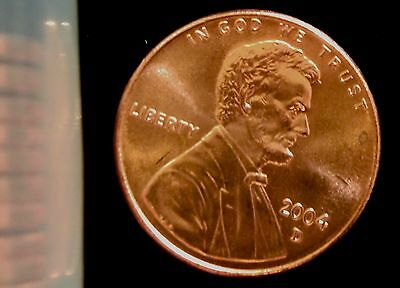 2004-D Denver Mint Lincoln Memorial Cent BU