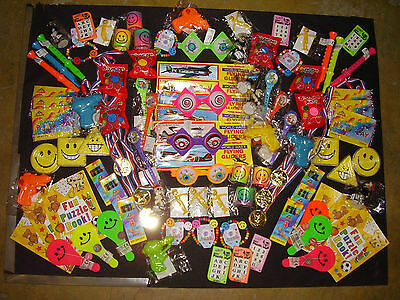 100 Assorted Boys & Girls Toys for Piñata/ Party & Loot Bag Fillers/ Favors