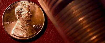 1993-P Philadelphia Mint Lincoln Memorial Penny BU