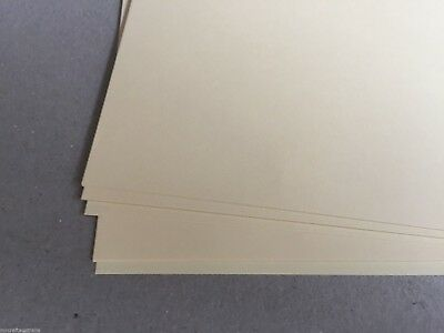 20 x A4 IVORY CREAM Textured Papers