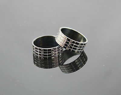 Wholesale Lots 50pcs stainless steel Top Quality Password Rings