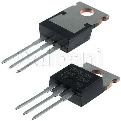 IRF3205 Original New IR 55V 75A .008Ω N-CHANNEL HEXFET® Power MOSFET TO-220AB
