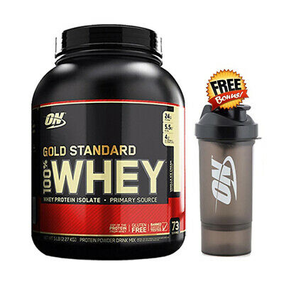 Optimum Nutrition 100% Whey Gold Standard Protein Extreme Choc 5Lb-Wpi-Wpc