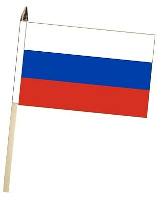 Russian Federation Russia Large Hand Waving Courtesy Flag