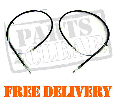 BMW 5 SERIES E39 2 x HAND BRAKE CABLES NEW 1995-2003 518 520 523 525 528 530 M5