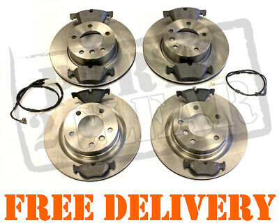 BMW E90 E91 320D 2.0d FRONT AND REAR BRAKE DISCS & PADS 3 SERIES NEW KIT 05-11